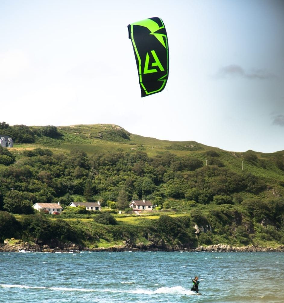 freestyle kite kiteboarding