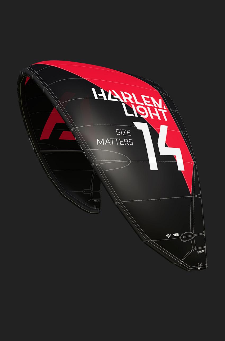 harlem light wind kite kite